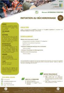 PF5- INITIATION AU BUCHERONNAGE